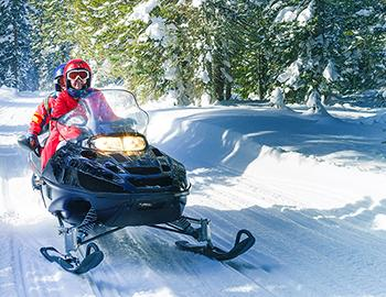 Lake Tahoe Snowmobiling