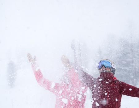 Pow Days in Squaw Valley