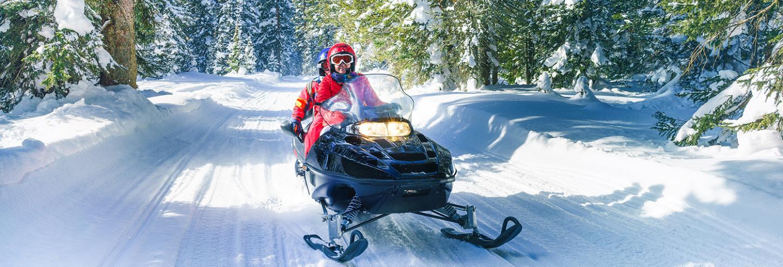 Lake Tahoe Snowmobiling