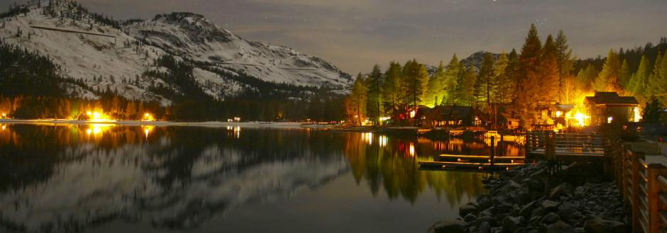 Donner Lake Night Sky