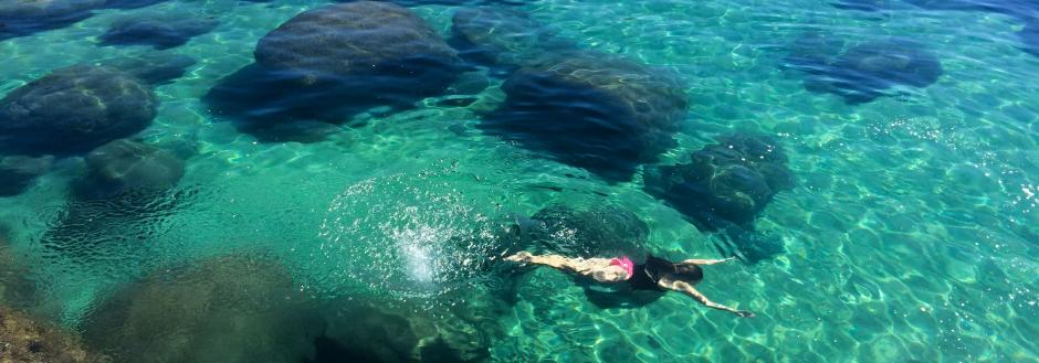 lake tahoe california swimming