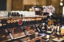 Espresso Machine at a coffee shop
