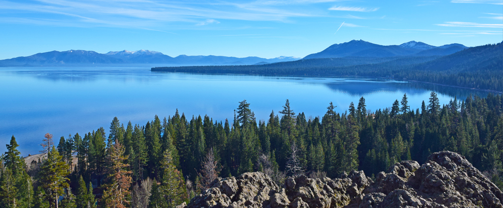 Lake Tahoe Hiking Eagle Rock