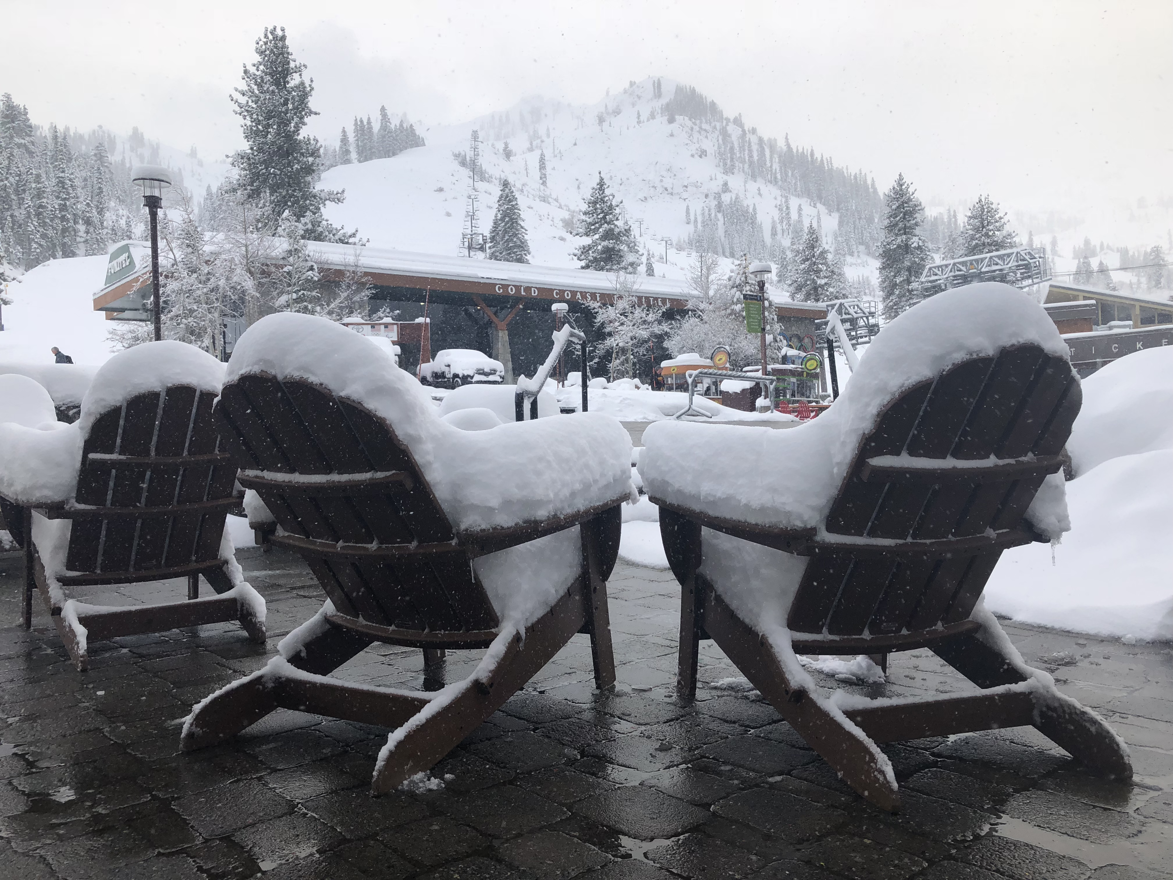 new snow in lake tahoe march