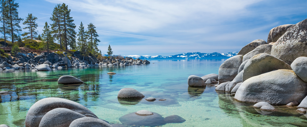Lake Tahoe Beaches Sand Harbor