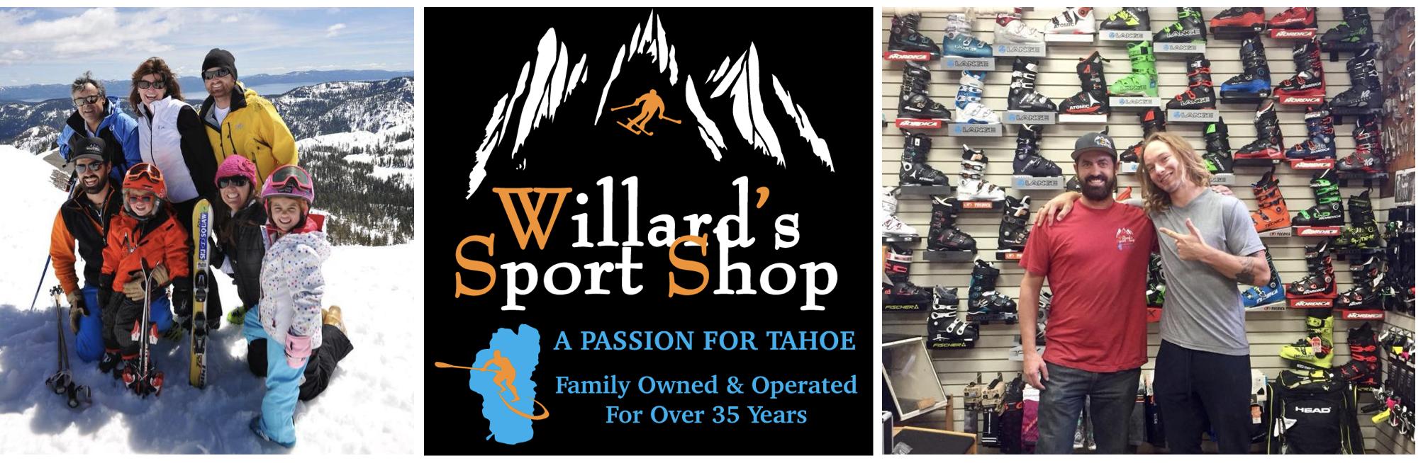 willards sport shop